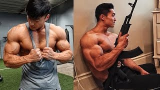 Long Wu   First Ever IFBB Pro Fitness Model from China