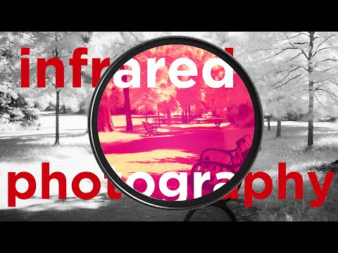 Infrared photography - digital infrared photos with Haida IR 720