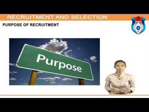 Recruitment and Selection NEW