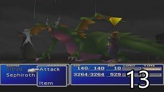 Final Fantasy VII Walkthrough Part 13 - Cloud's Past HD