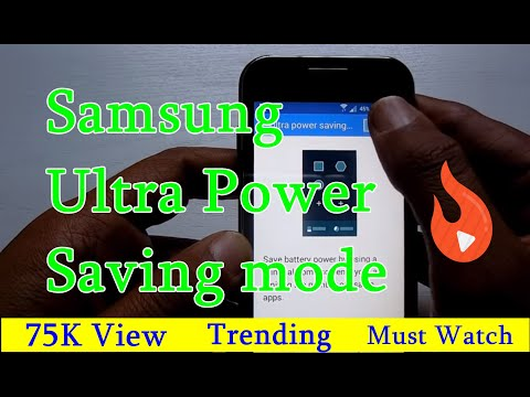 Samsung Galaxy J1 Ultra Power Saving Mode - Galaxy J1, J1 Ace, J2, J5 & Galaxy J7