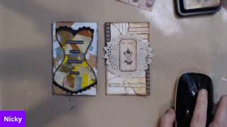 Craft and chat index art cards
