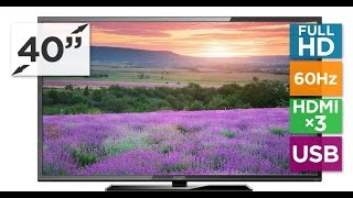 40 inch Full HD Smart TV Unboxing || Panasonic 40 inch Full HD Tv Unboxing and Quick Review