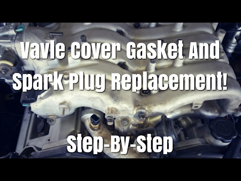 2003-2006 Kia Sorento Spark Plug And Valve Cover Gasket Replacement Part 1 Step-By-Step Walkthrough