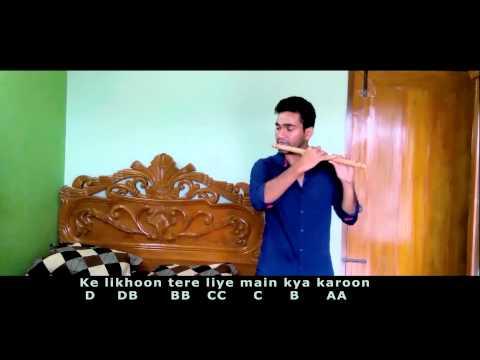 Dheere Dheere Se - Yo Yo Honey Singh Flute cover with notes (Riad)