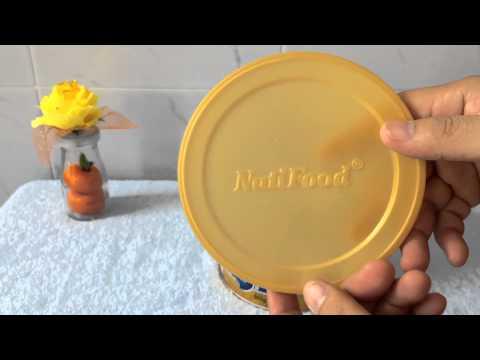 Đập hộp lon sữa bột NutiFood GrowPLUS+ - Sữa cho trẻ suy dinh dưỡng, thấp còi -