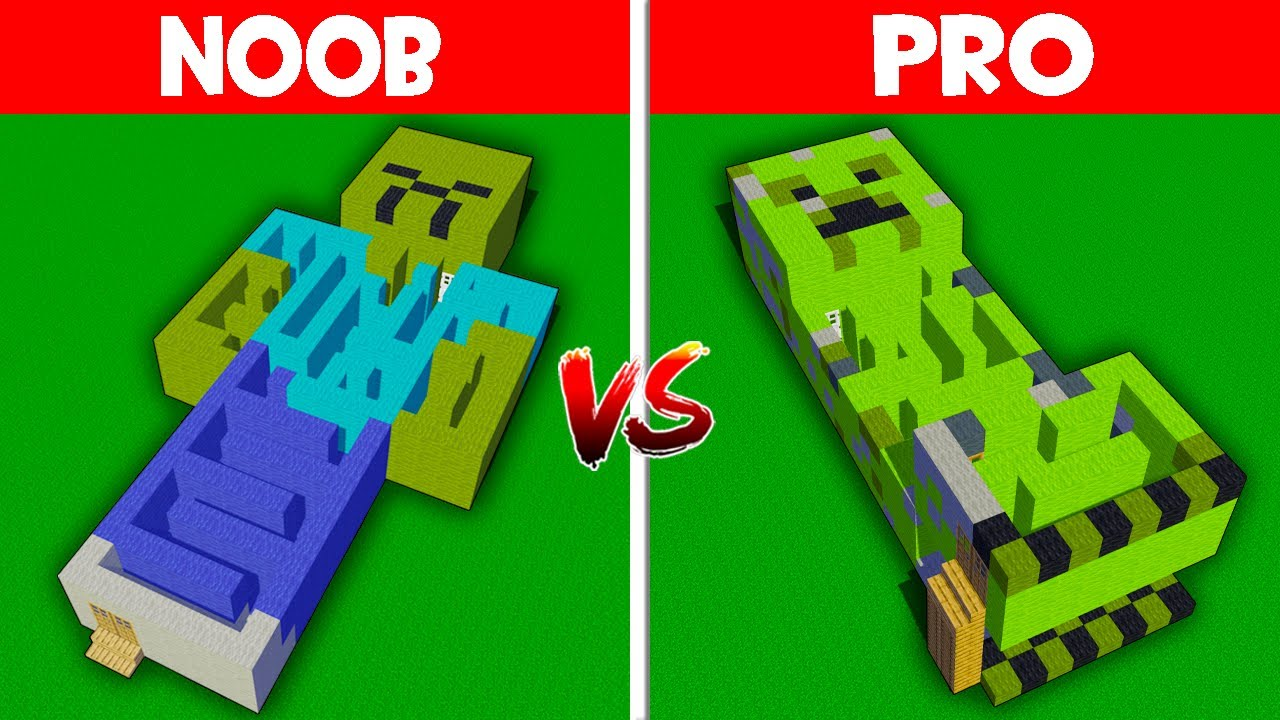 Minecraft NOOB vs PRO: NOOB FOUND SECRET MAZE INSIDE ZOMBIE vs MAZE INSIDE CREEPER! (Animation)