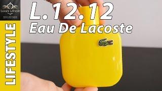 Lacoste Eau De Toilette L.12.12 Mens Fragrance Review • Luxury Lifestyle Channel