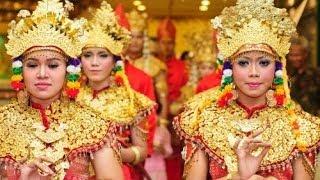 Tari Pagar Pengantin Palembang dari Putri Pinang Masak