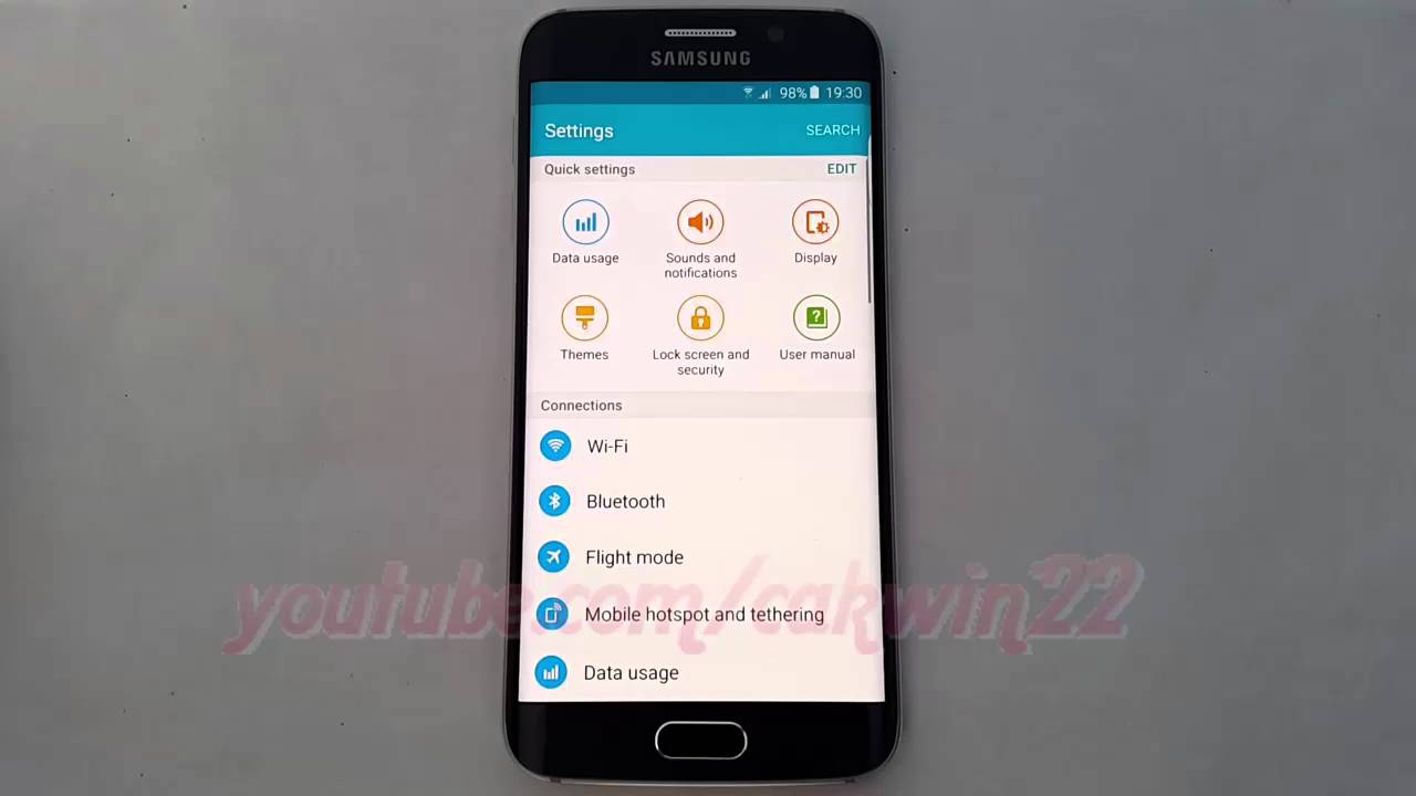 Android Lollipop : How to Enable or disable Prevent USB audio routing in  Samsung Galaxy S6