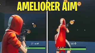 HOW to IMPROVE HIS AIM ENTRAINEMENT PRO on FORTNITE BATTLE ROYALE!