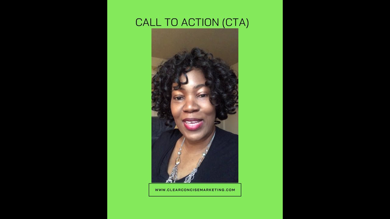 Creating a Clear Call To Action (CTA)