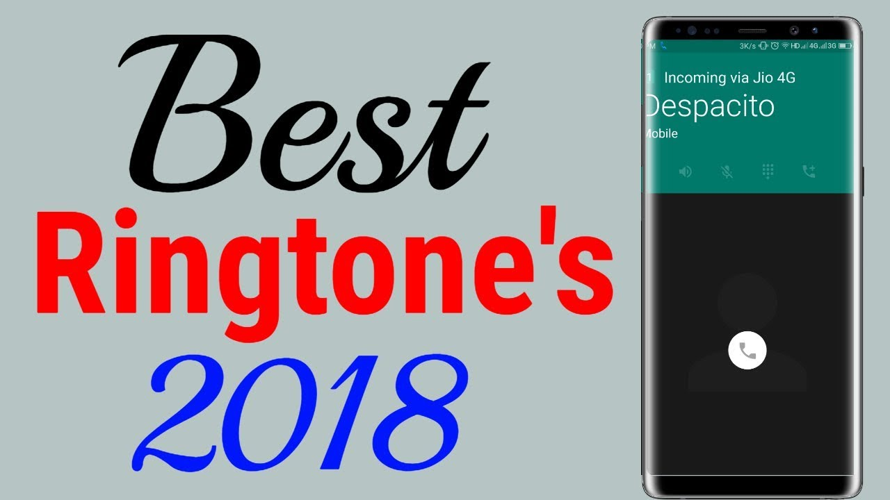ringtone for mobile download 2018
