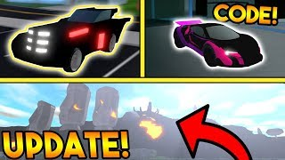 NEW NIGHT RIDER VEHICLE, CODE, AND VOLCANO CHANGES!? | ROBLOX: Mad City