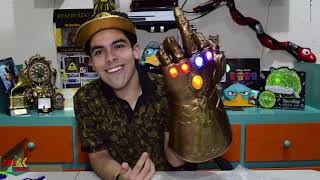 UNBOXING GUANTELETE DEL INFINITO INFINITY GAUNTLET THANOS MARVEL LEGENDS Infinity War Eduardo Perry