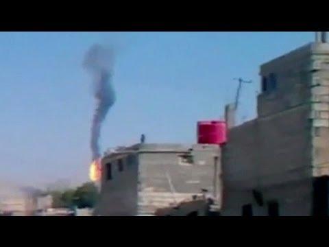Suriye'de askeri helikopter düştü