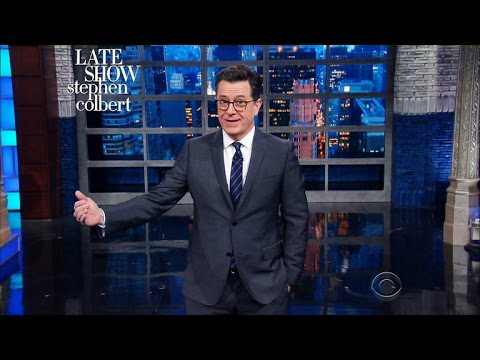 Stephen Colbert On Trump's Unhinged Press Conference: 'No, You Inherited A Fortune, We Elected A Mess'