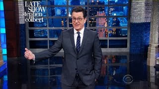 Donald Trump Wows At First Solo Stress Conference | The Late Show with Stephen Colbert