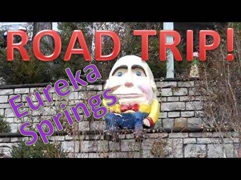 ROAD TRIP VLOG (Eureka Springs)