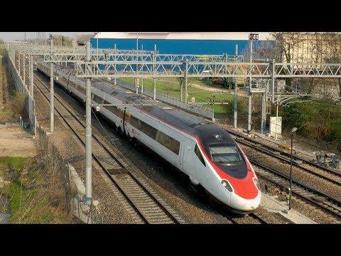 Treno EuroCity ETR 610 SBB CFF FFS