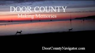Door County Making Memories | Deer at Sunset