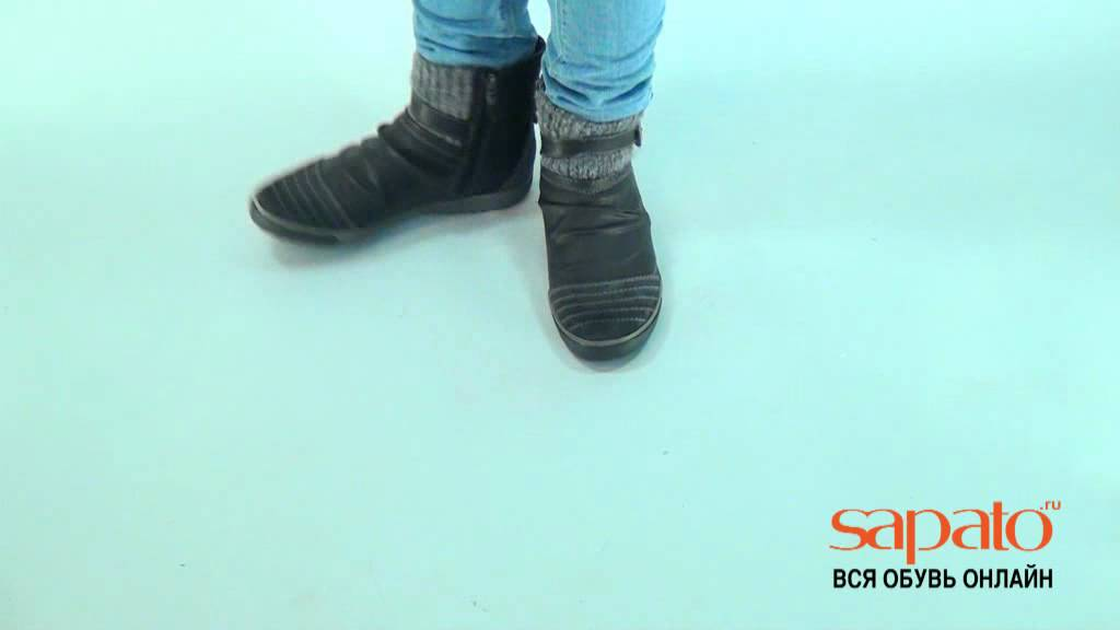 Женские осенние сапоги интернет магазин - YouTube