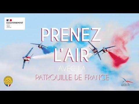 « Prenez lAir avec la Patrouille de France »
