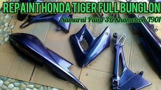 Repaint Full Body Honda Tiger Warna Bunglon T901 Samurai Paint