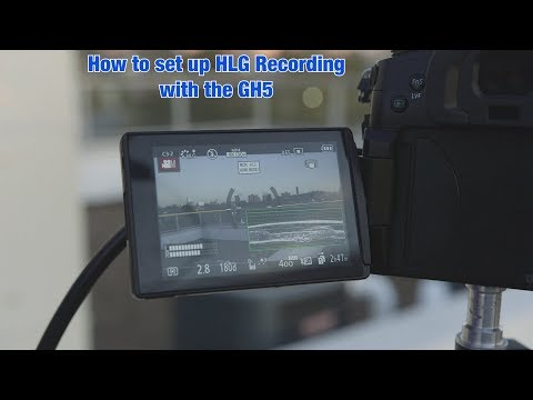 Setting up your GH5 for HLG HDR capture   Interceptor121
