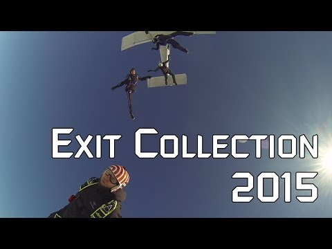 Skydiving Exit Compilation (Season 2015)