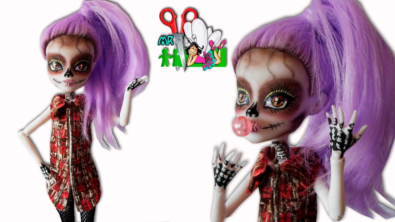Как сшить для кукол монстер хай тунику