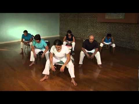 chair exercises on tv folding electric gentle yoga in the - youtube