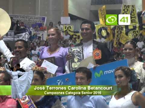 Ganadores del 56° Concurso Nacional categoria Senior y Juvenil -Trujillo
