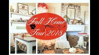 Fall/Autumn Home Decor Tour 2018