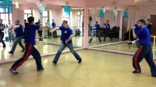 Фехтование на катанах (нарезка-1 март-2013)