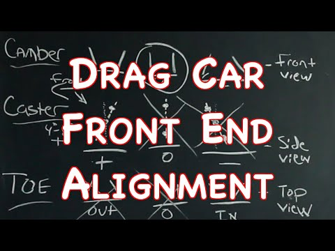 Drag Car Front End Alignment