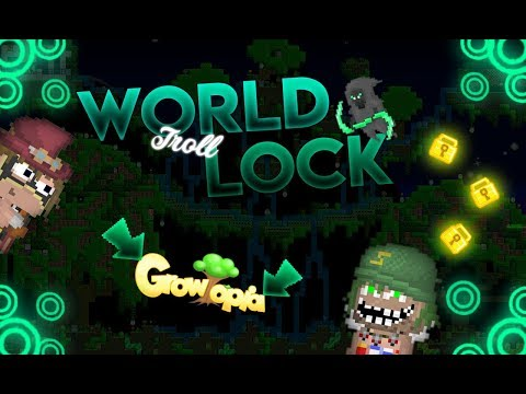 World Lock Troll - Growtopia Türkçe