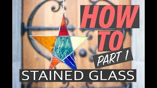 Stained Glass Tutorial Part 1: Drawing and glass cutting