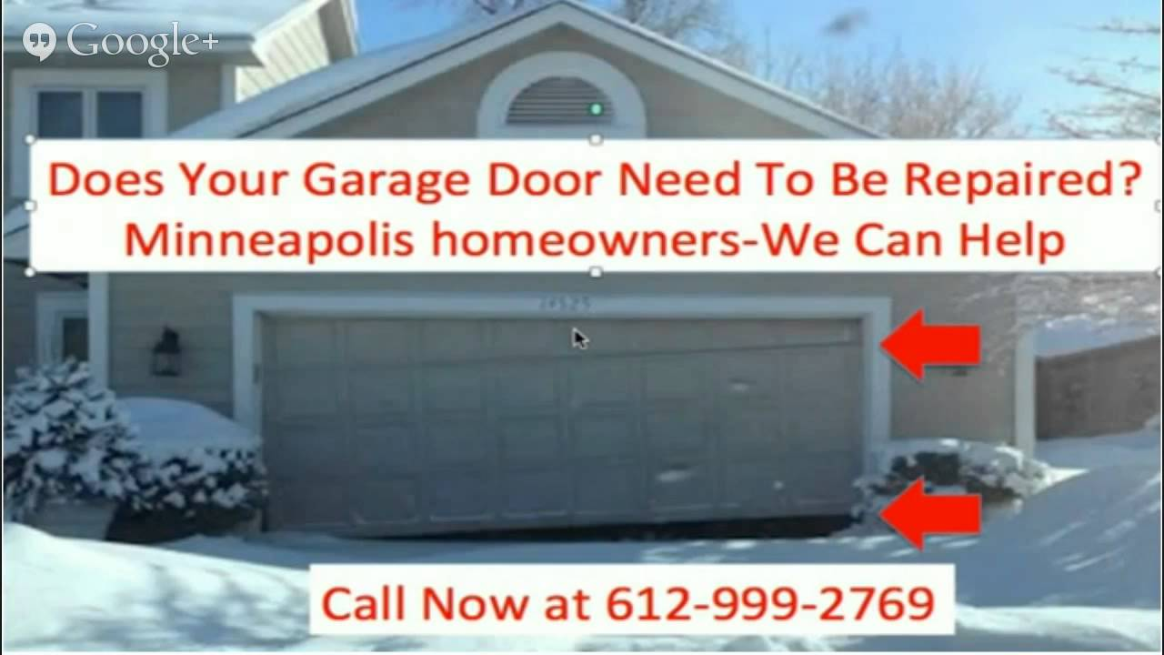 Garage Door Repair Minneapolis MN 612 424 4800