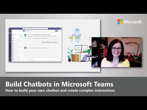 Chatbots in Microsoft Teams | Build with Power Virtual Agents