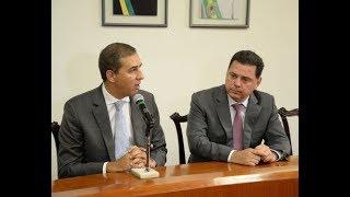 A sintonia entre Marconi e José Eliton no Goiás na Frente