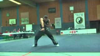 2010 German Wushu Nationals - Benjamin Baumhauer Huquan