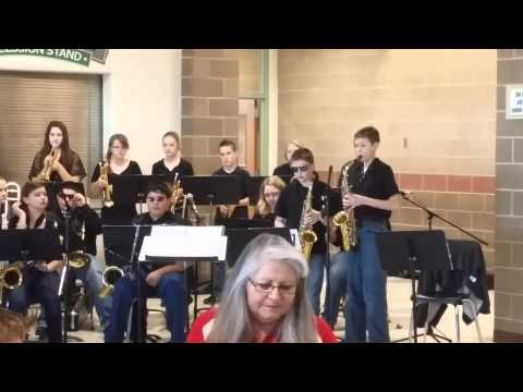 Parma Middle School Jazz Band