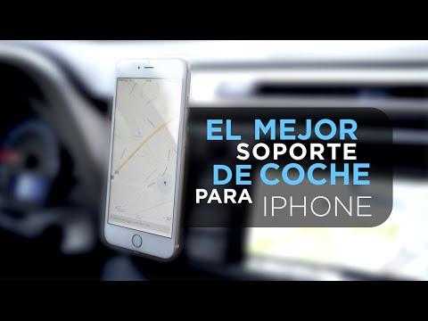 El mejor soporte de coche para iPhone