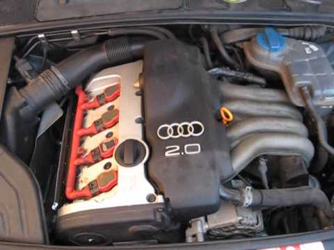 Audi A4 8E 2.0 ALT - chain - YouTube