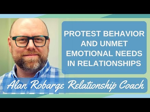 Protest Behavior and Unmet Emotional Needs in Relationships