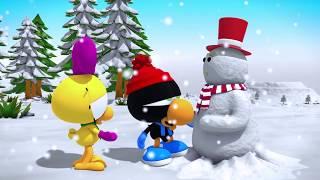 Limon ile Zeytin - Kardan Adamlı En Komik Sahneler   Çizgi Film