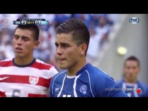 Los 8 goles de Rodolfo fito Zelaya en Copas Oro 2011/2013