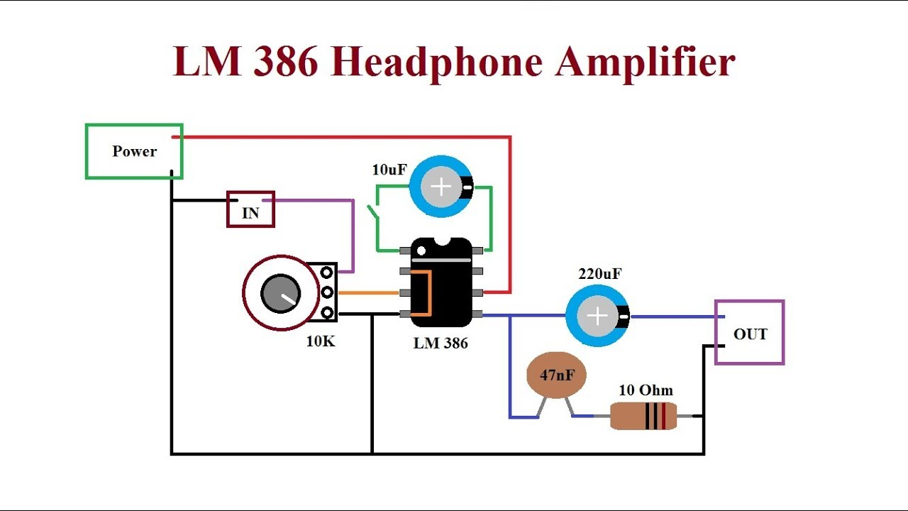 LM386 Amplifier  Loud, cheap and reliable