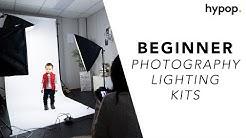 Best Starter Lighting Kits for Beginner Studio Photographers